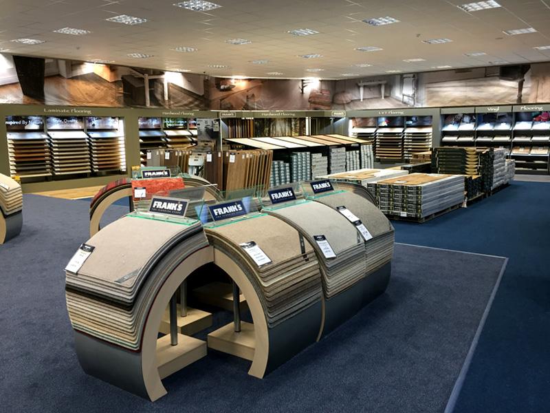 Gallery display factory ltd for Franks flooring